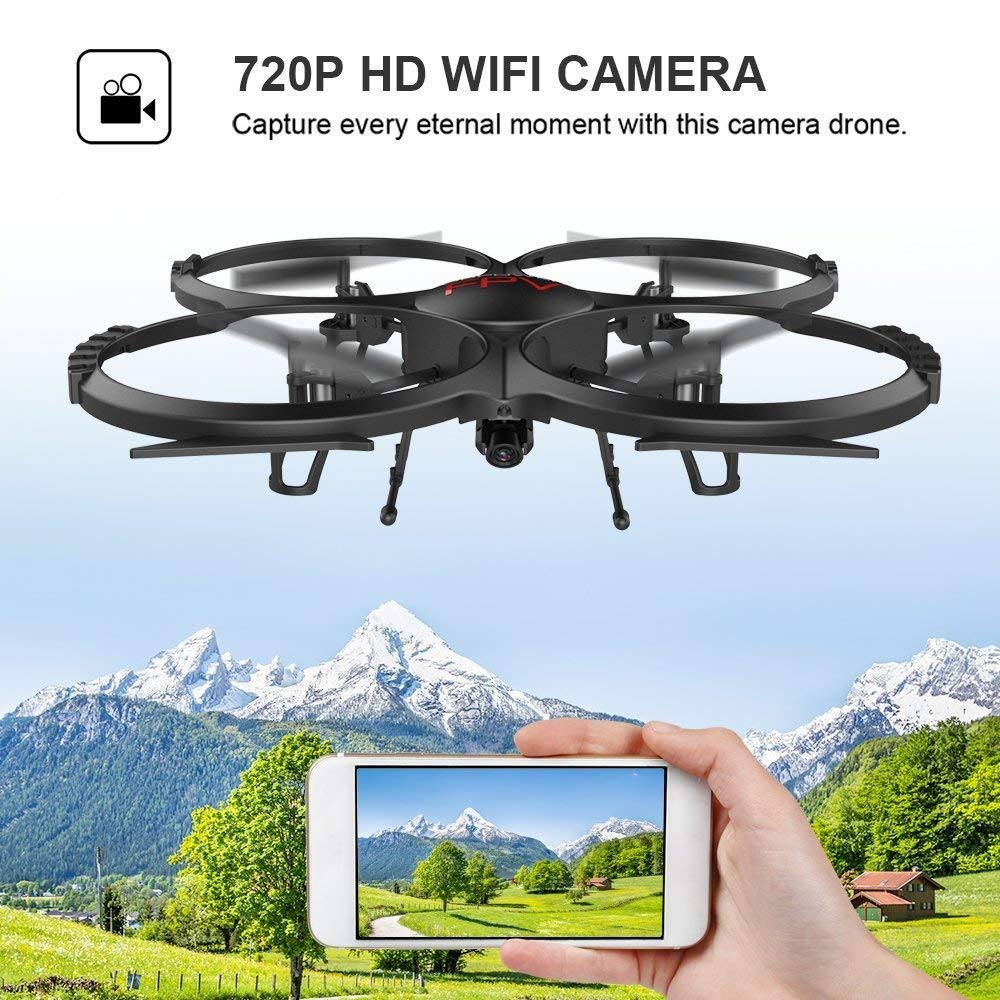 Quadcopter mit mit 2MP HD Kamera